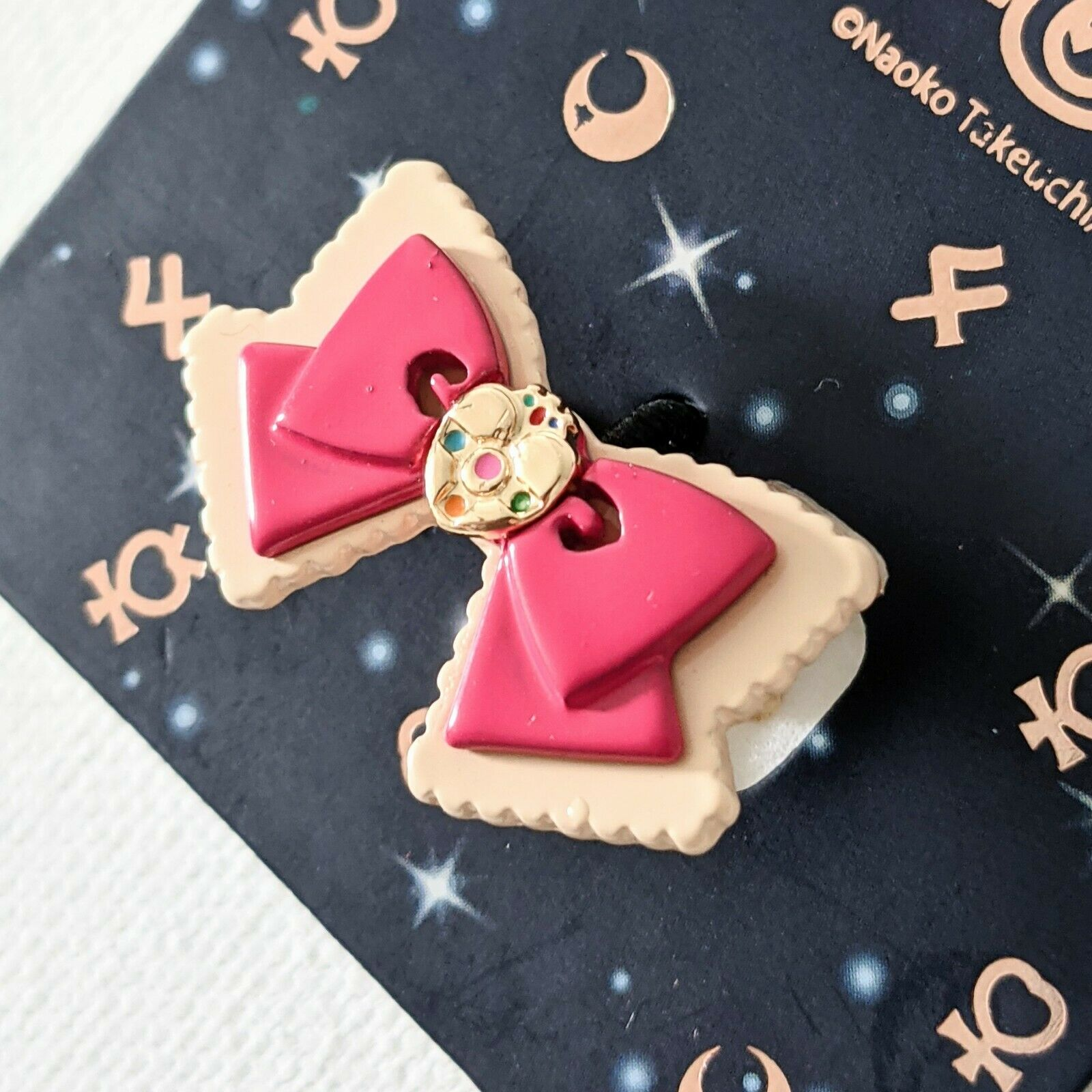 Sailor Moon Hot Topic Exclusive Cosmic Heart Bow Ring Jewelry Accessories