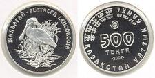 2007 Kazakhstan Large Silver Proof 500 T Spoon Bill Bird