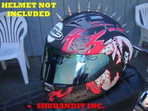 Image Is Loading Motorcycle Helmet Street Sport Bikes Helmets Metal Spikes