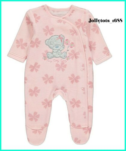 New Tatty Teddy Baby Girls Top /& Leggings Set Babygrow Floral Character Clothing