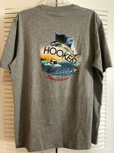 Tommy Bahama Relax Whats Your Pin Coal Black Cotton Tee Men/'s Shirt M NWT $49.50