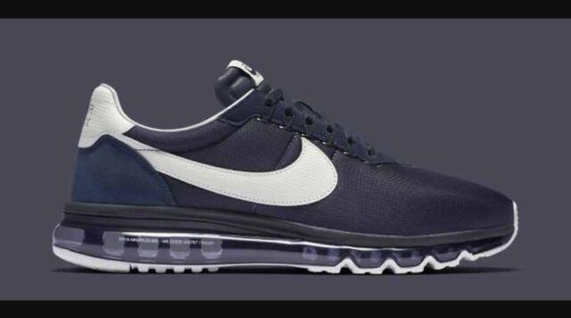 2016 DS Nike Lab Air Max LD Zero Hiroshi Obsidian White Shoes 848624 410 Size 5