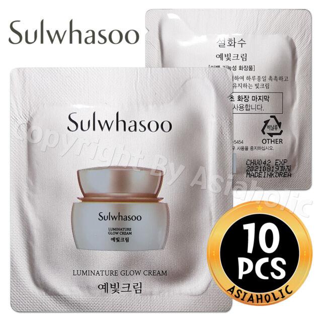 Sulwhasoo Luminature Glow Cream 1ml x 10pcs (10ml) Sample Newist Version