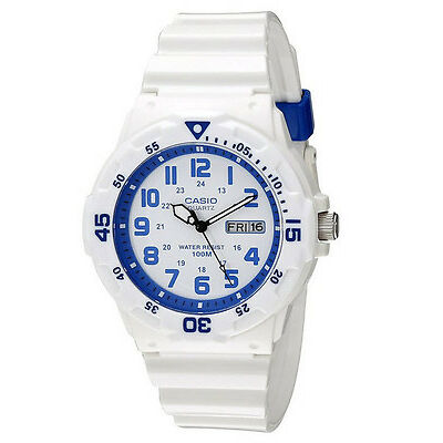 Casio MRW200HC-7B2 Mens 100M White Diver Classic Sports Watch