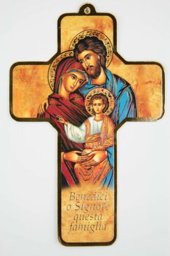 Holy Family Our Lord  The Last Supper Wall Cut Out Cross Printed Icon Крест