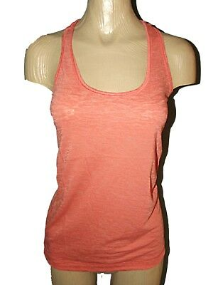 Grey New Reebok Workout Vest Top T-Shirt Gym Training Fitness Ladies Womens