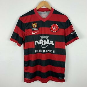 Nike Western Sydney Wanderers WSW Soccer Football Jersey Size Medium Official