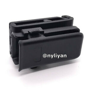 Universal-Tactical-Pistol-Magazine-Pouch-Single-Mag-Holder-w-Belt-Clip-Hunting