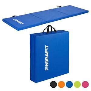 Mirafit-Tri-Fold-Folding-Exercise-Mat-Yoga-Pilates-Gym-Class-Workout-Fitness