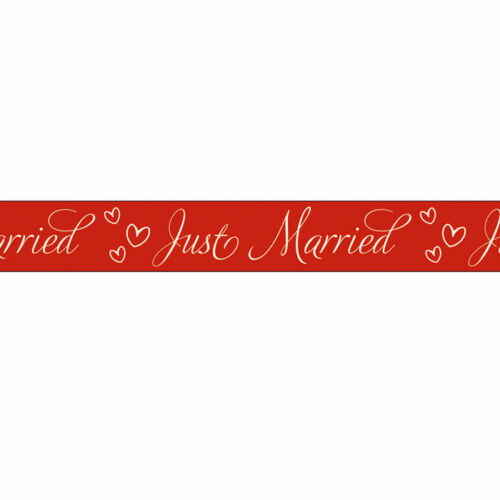 NEU Masking Tape Klebeband Just Married 4