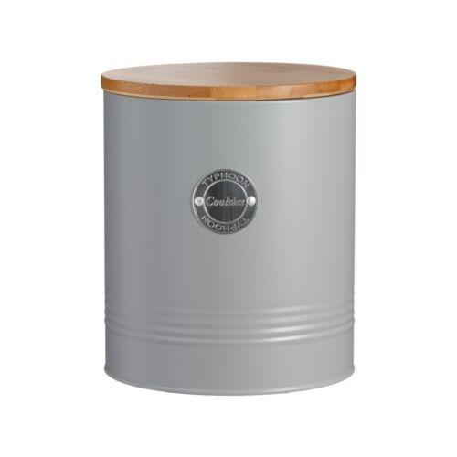 Typhoon Living Ustensile Pot /& hermétique Biscuit//Cookie Jar avec bambou couvercle tucg
