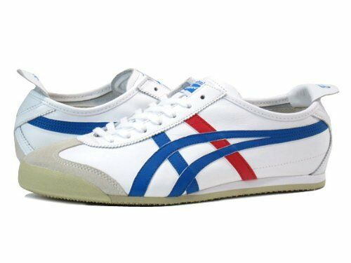 Onitsuka Tiger MEXICO 66 WHITE//BLUE//RED THL202 Shoes from Japan New