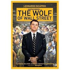The Wolf of Wall Street, Leonardo DiCaprio DVD 2015 NEW and SEALED Free Shipping