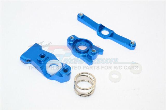 GPM Aluminum Steering Assembly Blue 1:16 E-Revo Slash Summit #ERV048-B