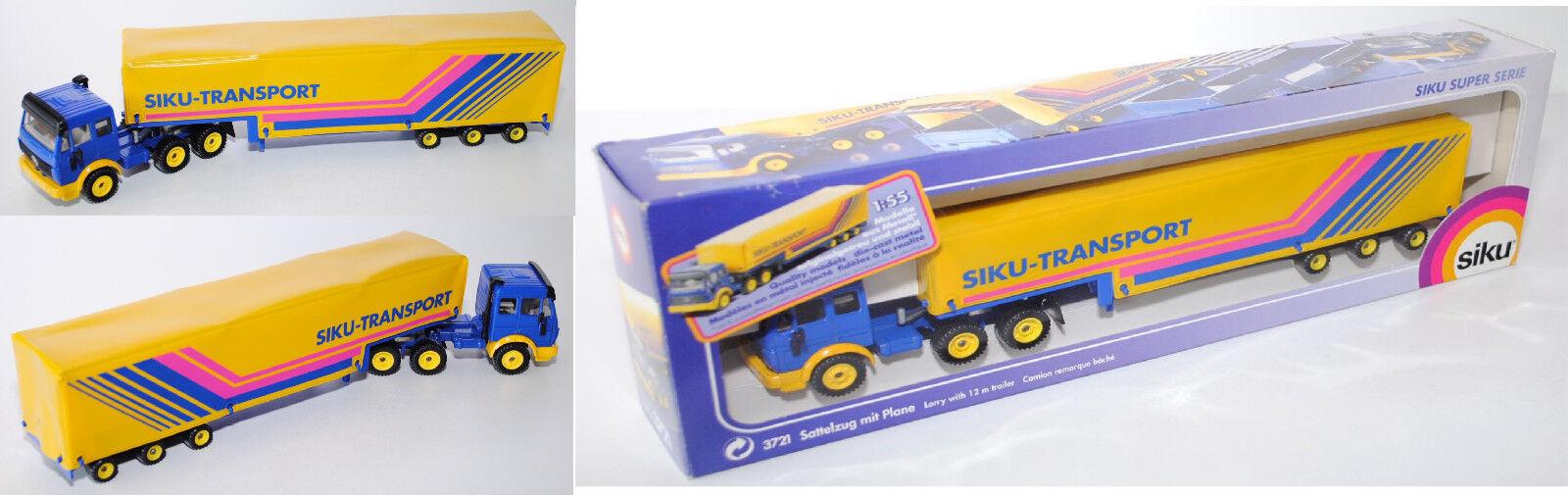 Siku súper 3721 mercedes-benz SK 2629 conducirse con lona, siku-Transporte