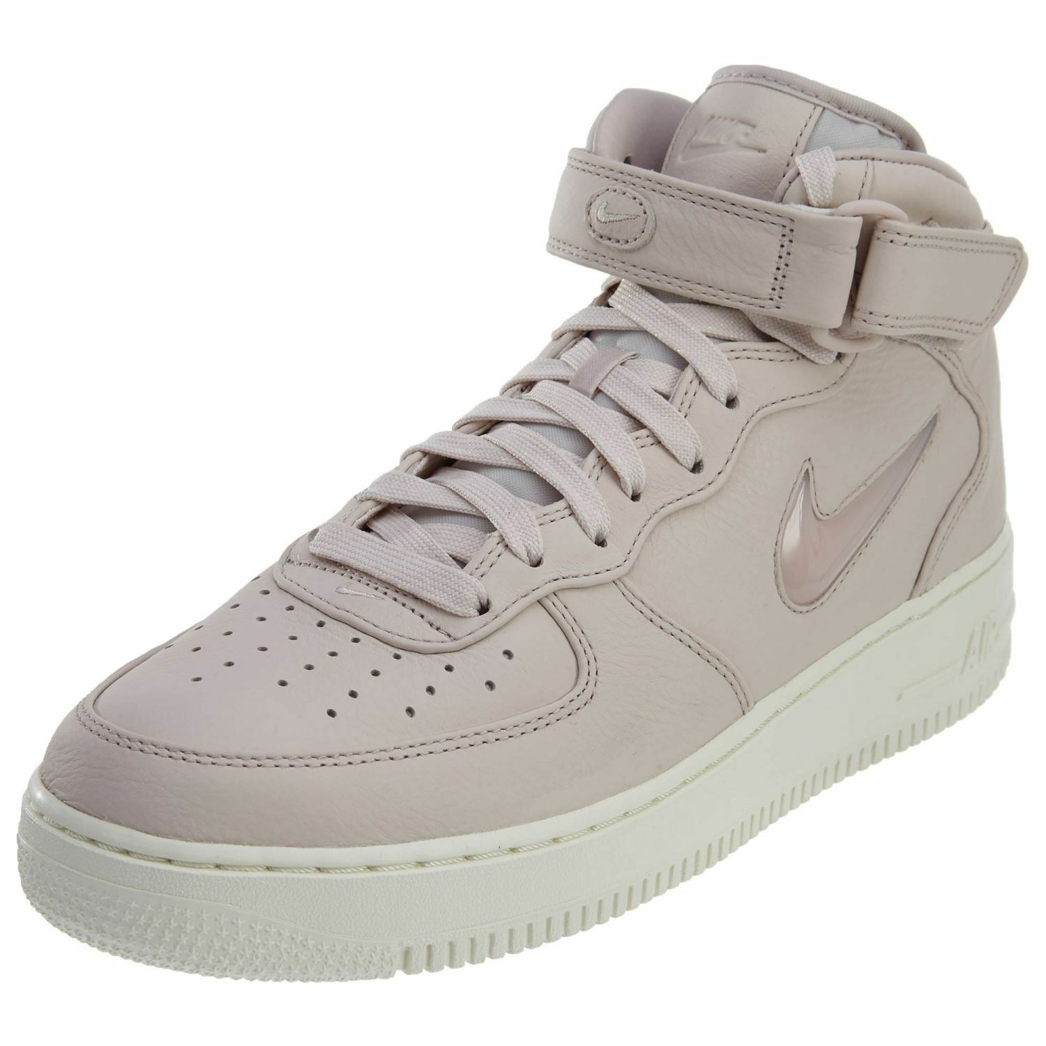 Nike Air Force 1 Mid Retro PRM Men's Snekers Shoes Siltstone Red 941913 600