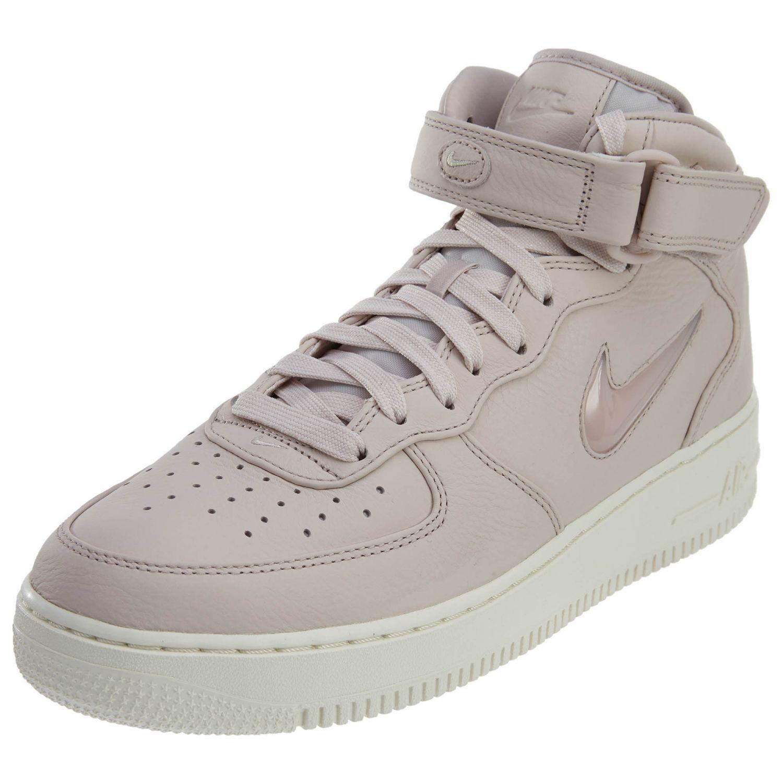 Mens Nike Air Force 1 Mid Retro Premium JEWEL Silt Red 941913-600 US ... 5c35a62fe9