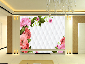 3D Clever Flower Painting 9966 Wall Paper Wall Print Decal Wall AJ WALLPAPER CA