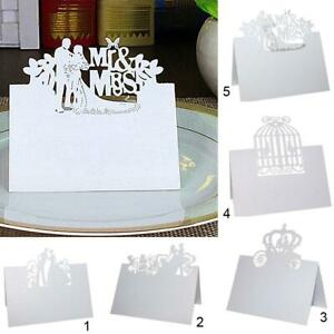 Details About 50pcs Wedding Party Invitation Cards Marriage Bridal Shower Invites Choose Type