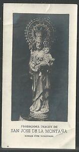 image pieuse ancianne San Jose santino holy card estampa 059fWjBK-08065938-649335002