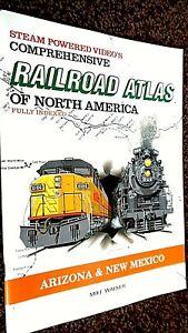 SPV'S COMPREHENSIVE RAILROAD ATLAS OF NORTH AMERICA: ARIZONA & NEW MEXICO (1995)