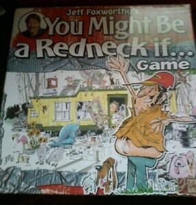 Jeff-Foxworthy-039-s-You-might-be-a-Redneck-if-game-Factory-sealed