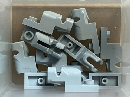 QTY 10 Light Bluish Gray Projectile Launcher 1 x 2 LEGO Parts No 15403