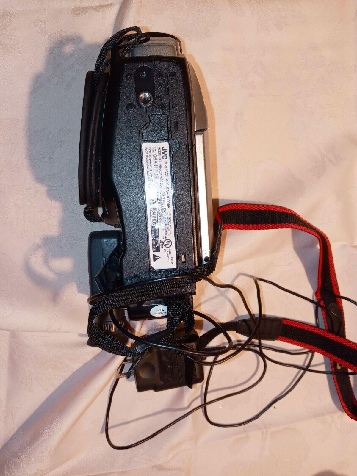 Jvc Gr Sxm250 Vhs C Analog Camcorder For Sale Online Ebay