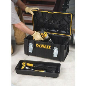 NEW-22-in-Tough-System-Large-Tool-Storage-Box-Handyman-Carry-Seal-Case-Organizer