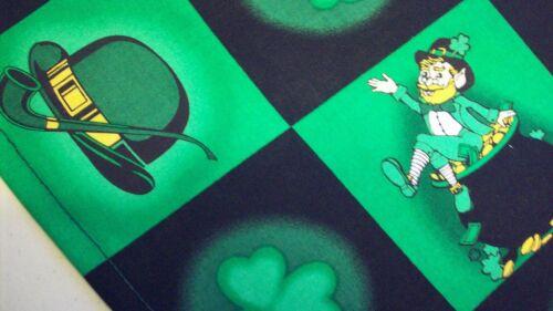 Dog Bandana Tie On Green St Patrick/'s Day Custom Made by Linda XS S M L XL