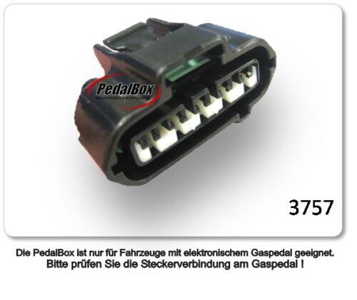 DTE Systems PedalBox 3S für Toyota Landcruiser J10 1998-2007 4.2 TD R6 150KW  ..