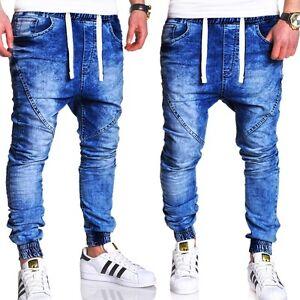 jogger jeans hose vintage slim fit jogginghose in jeans. Black Bedroom Furniture Sets. Home Design Ideas