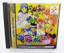 SS DETANA TWINBEE YAHOO! DELUXE PACK SEGA SATURN NTSC-J JAPAN IMPORT GAME KONAMI