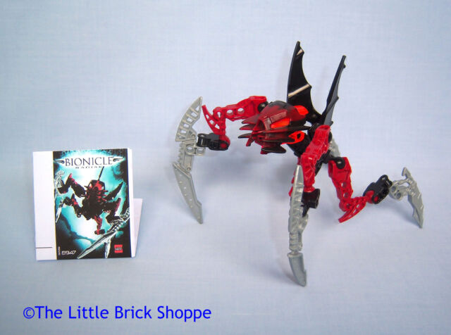 Lego 8947 Bionicle Karda Nui Matoran Radiak complet de 2008 C81