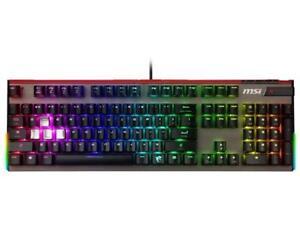 7d2dd2b49ce MSI Vigor GK80 Wired Cherry MX RGB Red, RGB Gaming Keyboard ...