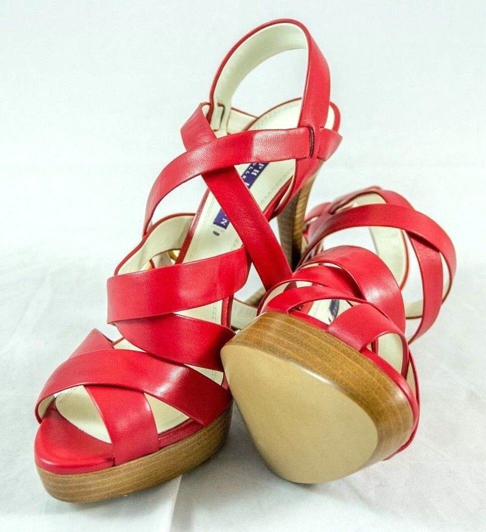 ci sono più marche di prodotti di alta qualità Ralph Lauren Lauren Lauren viola Label  Jessia  Heels sz 9 B  695 Made in  BNIB  negozi al dettaglio