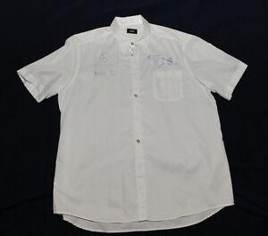 hugo boss west mclaren mercedes team manager button down shirt size