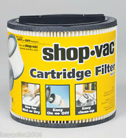 Shop Vac Cartridge Filter 9030400 Fits Shop Vac Brand 5 Gallon And Up