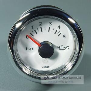 VDO-MARINE-OLDRUCKANZEIGER-OELDRUCK-5-bar-12-24V-INSTRUMENT-OIL-PRESSURE-GAUGE
