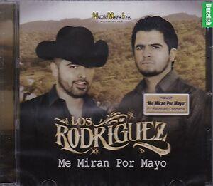 Los-Rodriguez-de-Sinaloa-Me-Miran-Por-Mayo-CD-New-Nuevo-Sealed