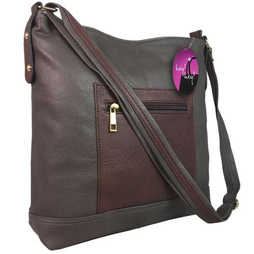 Large Handbag Across Cross Body Bag Long Shoulder Strap Big Ladies Messenger