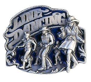BOUCLE-DE-CEINTURE-BOUCLE-DE-CEINTURE-Line-Dance-PAYS-occidental-Bleu