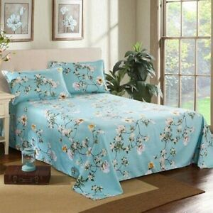 Beau Details About Decor Home Brand Bed Sheets Bed Textile Bedding Coverlet Flat  Sheet Flower Bed