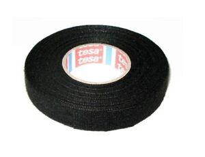 Tesa-Klebeband-Gewebeband-PET-Wolle-Gewebeklebeband-19mm-x-25m-Rolle-Schwarz