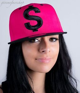Dolar-GORRA-snapback-CELEBRITY-Visera-Plana-hip-hop-Ajustada-Bling-urbano