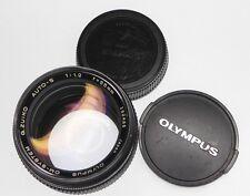 Olympus OM 55mm f1.2  # 152465