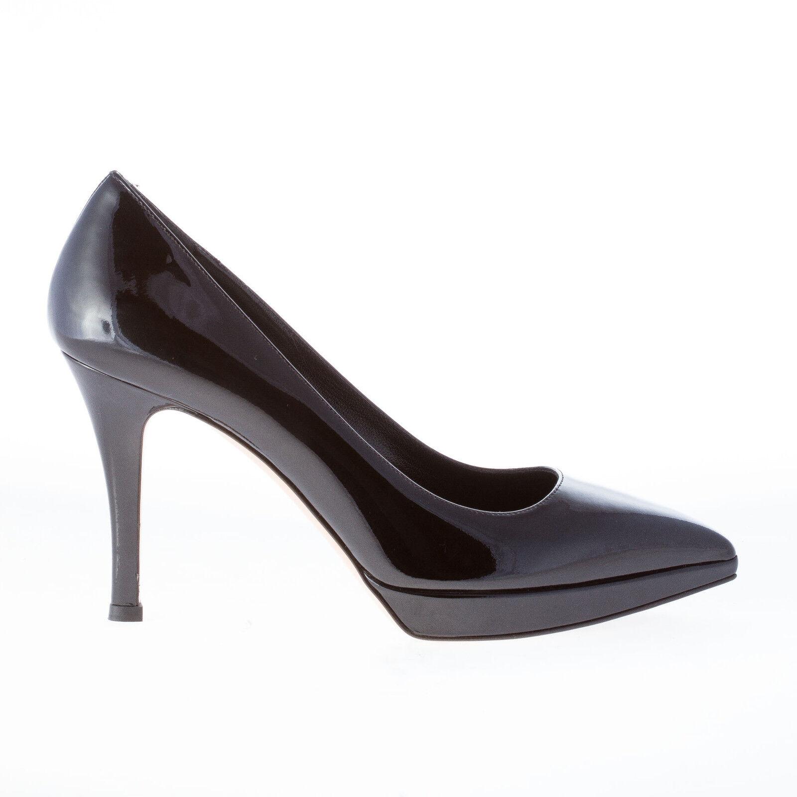 Semilla De Mujer Zapatos Charol Negro Negro Negro Puntera en Punta bomba con meseta  gran descuento