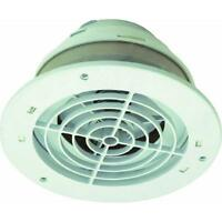 5-white 4 To 6 Duct Adjustable Kitchen Bathroom Exhaust Fan Soffit Vent Sevzw