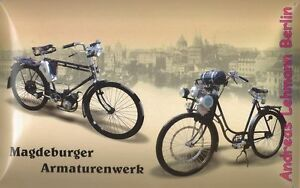 blechschild maw fahrrad hilfsmotor magdeburger armaturenwerk rudolf bauer ddr ebay. Black Bedroom Furniture Sets. Home Design Ideas
