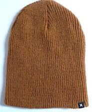 Hurley Unusual Beanie Golden Khaki Hat Cap Water Repellent New NWT